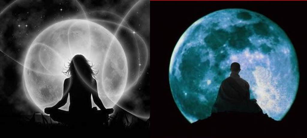 Full moon meditation_Ying & Yang