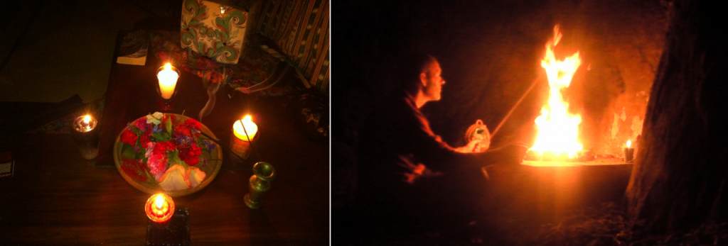 Equinox ceremony & offerings 2