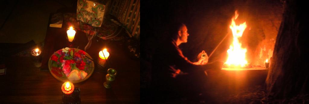Equinox ceremony & offerings 2